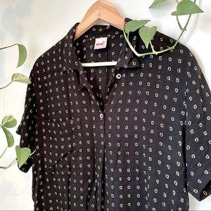 Vintage Mondi Short Sleeve Blouse